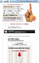 アフィリで月収5000万円!LFM-TV2012 DVD版